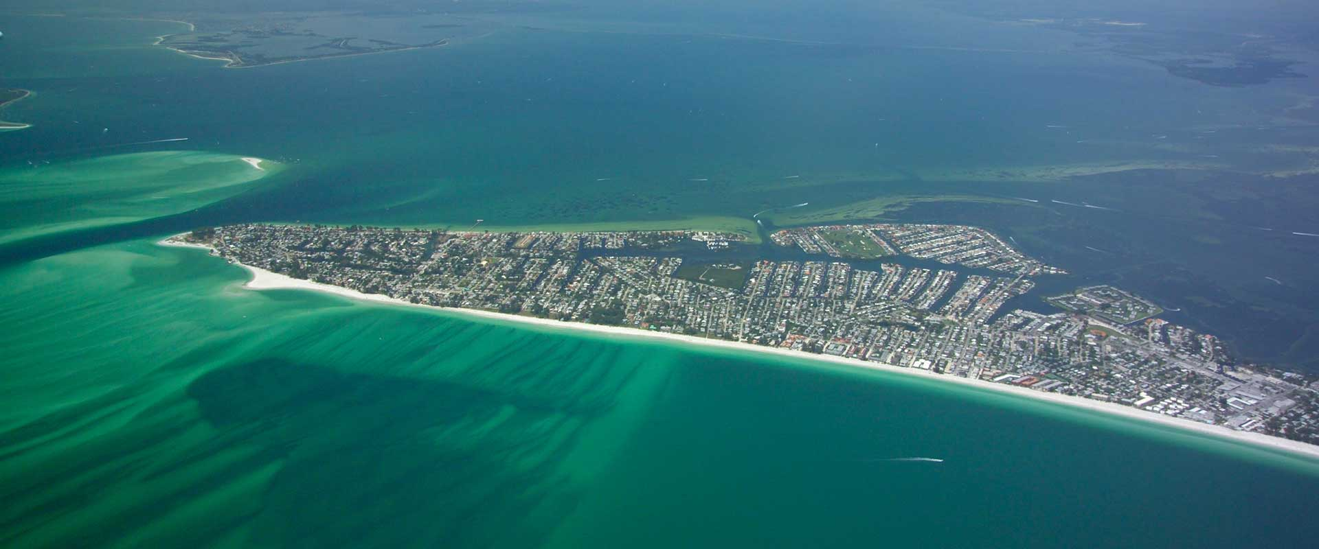 Aerial Photo of Anna Maria Island