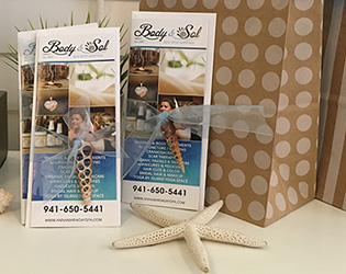Gift Certificates for Body & Sol on Anna Maria Island